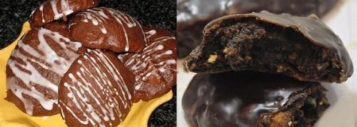 mostaccioli glassati al cioccolato,mostaccioli,ricette di natale,dolci di natale,dolci natalizi,cioccolato,mandorle,