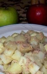 Insalata di patate con il tonno