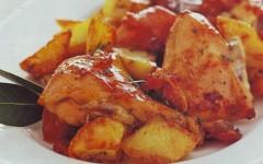 coniglio al forno con patate,coniglio,coniglio al forno,pancetta,rosmarino,