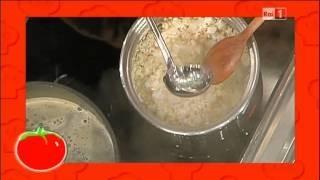 risotto con seppie e piselli,ricette la prova del cuoco,risotto ,primi piatti,