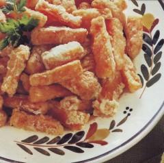 bastoncini di carote in pastella,carote in pastella,verdure miste in pastella,carote fritte,