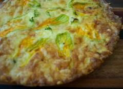 frittata ai fiori di zucca,frittata,frittata con i fiori di zucca,fiori di zucca,uova,ricetta frittata