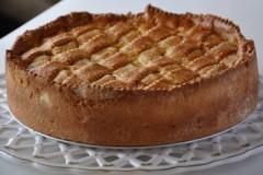 crostata di ricotta con gocce di cioccolata,crostata,crostata di ricotta,ricotta,cioccolata,ricette cotto e mangiato,dolci,cotto e mangiato,dolci di cotto e mangiato,ricette dolci,