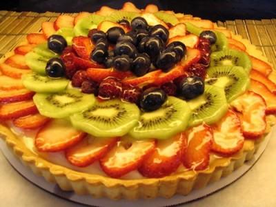 crostata di frutta,ricette cotto e mangiato,crostata,frutta,