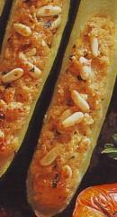 zucchine farcite al pecorino e pinoli,zucchine,zucchine farcite,ricette con le verdure,ricette,ricette di cucina,