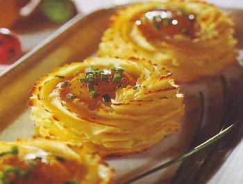 nidi di purè di patate gratinati,patate gratinale,patate,ricette di cucina,ricette,patate gratinate al forno,purè di patate al forno,purè di patate,