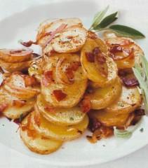 patate al prosciutto,patate,prosciutto,contorno,ricette con le patate,
