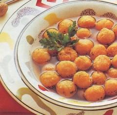 palline di patate in brodo,palline di patate,patate in brodo,patate,ricette di cucina,