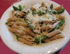 penne integrali agli asparagi,penne integrali,cucina vegetariana,primi piatti,pasta,