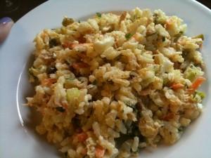 insalata di riso di magro,insalata di riso,riso,tonno,acciughe,carciofi,finocchi,insalate,