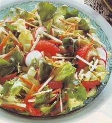 insalata,insalate,insalata di rucola e scarola,rucola,scarola,