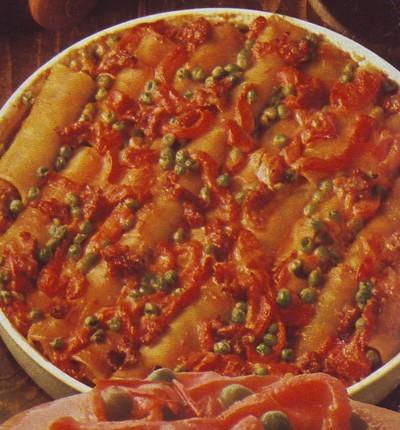 cannelloni alle salsicce,cannelloni,salsicce,ricette,ricette di cucina,pomodoro,cannelloni con la salsiccia,