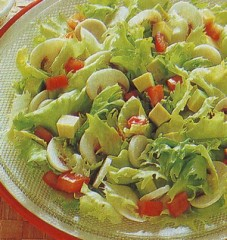 insalata appetitosa,insalata,insalate,pomodori,yogurt,zafferano,maionese,limone,