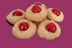 Biscottini fantasia alle ciliegine candite